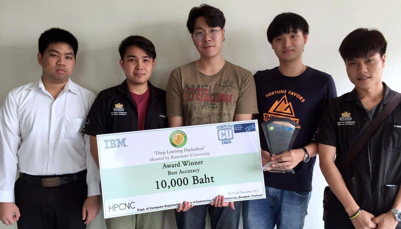 ็็The Winner of Hackathon in Deep Learning